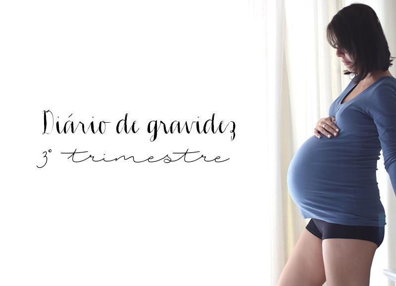 Diário de gravidez: O terceiro trimestre de gestação