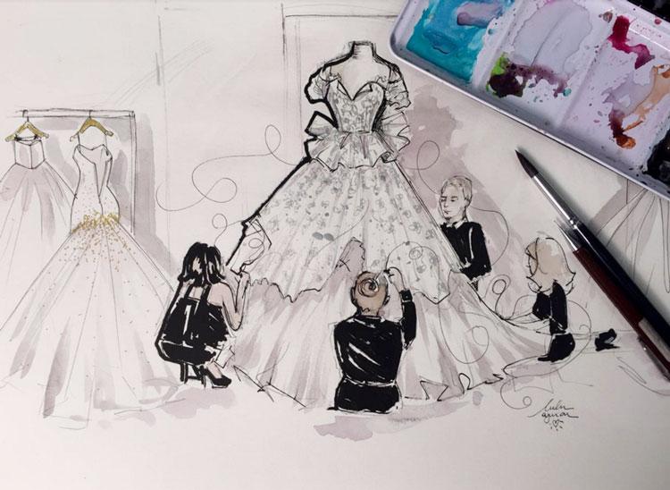 Como eternizar o seu vestido de noiva sem precisar dele